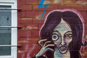 Graffiti am Ringcenter