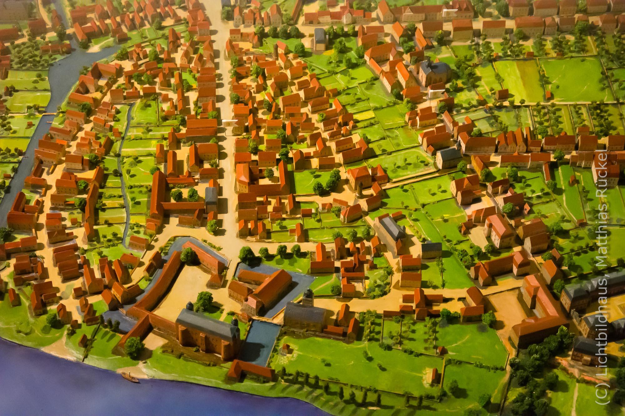 Modell Stadtmuseum