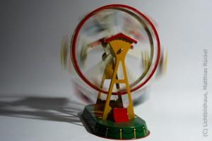 Blechspielzeug Riesenrad