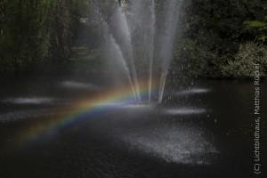 Regenbogen in Dreieich Park