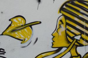 Graffiti am Kaiserlei