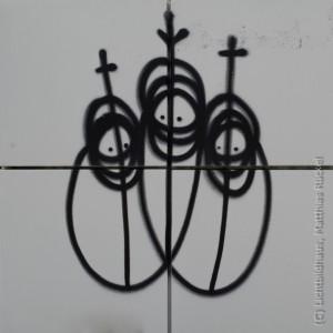 Mea Culpa - Drei Könige in der Berliner Strasse