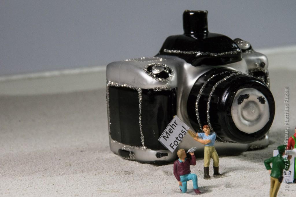 Natürlich wird die Demo von einem Fotografen dokumentiert.
