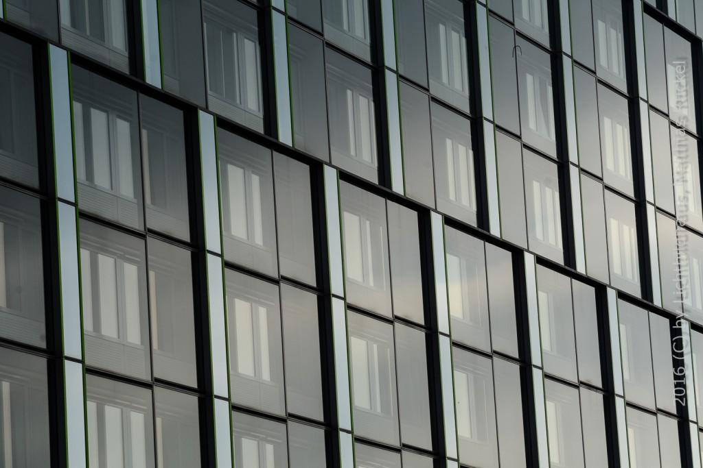 Leipzig moderne Fassade