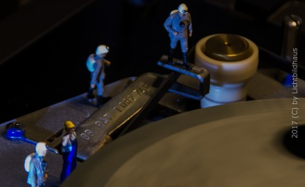 Im Maschinenraum des Plattenspielers