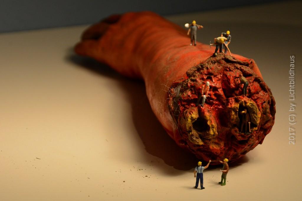 #Halloween, Gullivers Reisen, Figuren, Horror